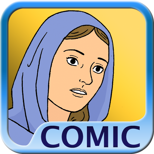 Bible comic book - Birth of Jesus