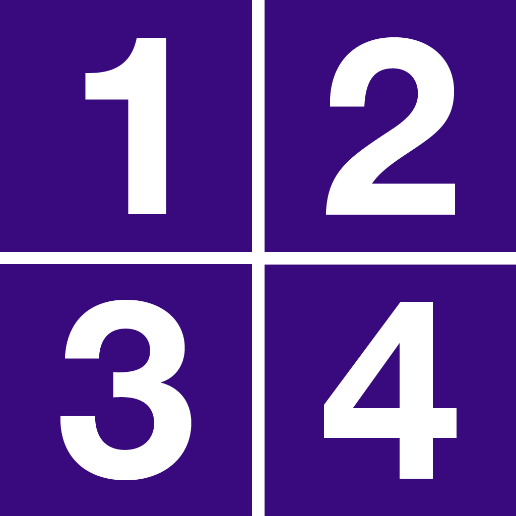1-2-3-4 - математическая игра